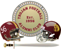 Trojan Football Alumni Club Logo 2019