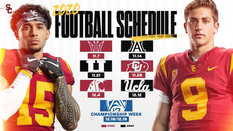 USC 2020 Football Schedule