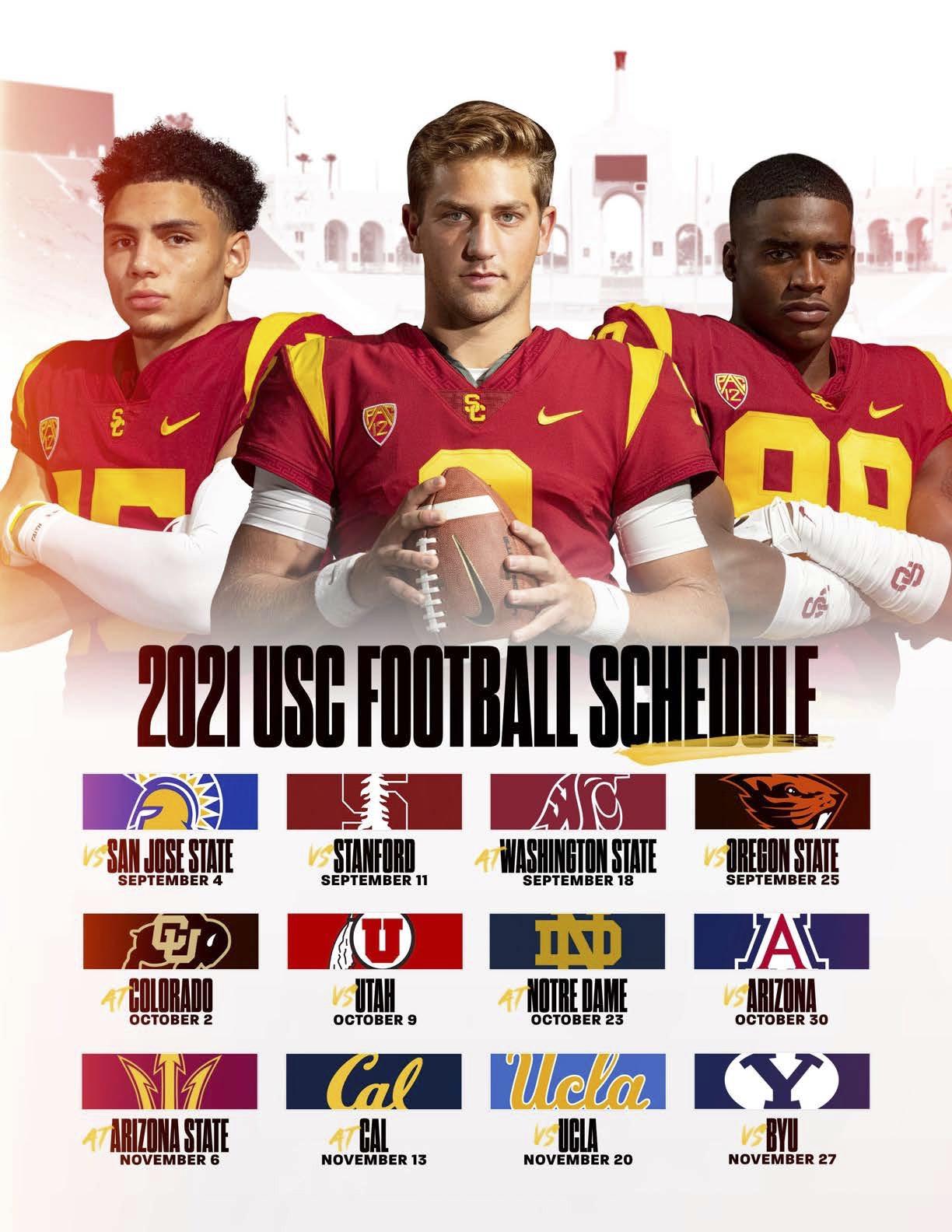 2021 USC Football Schedule