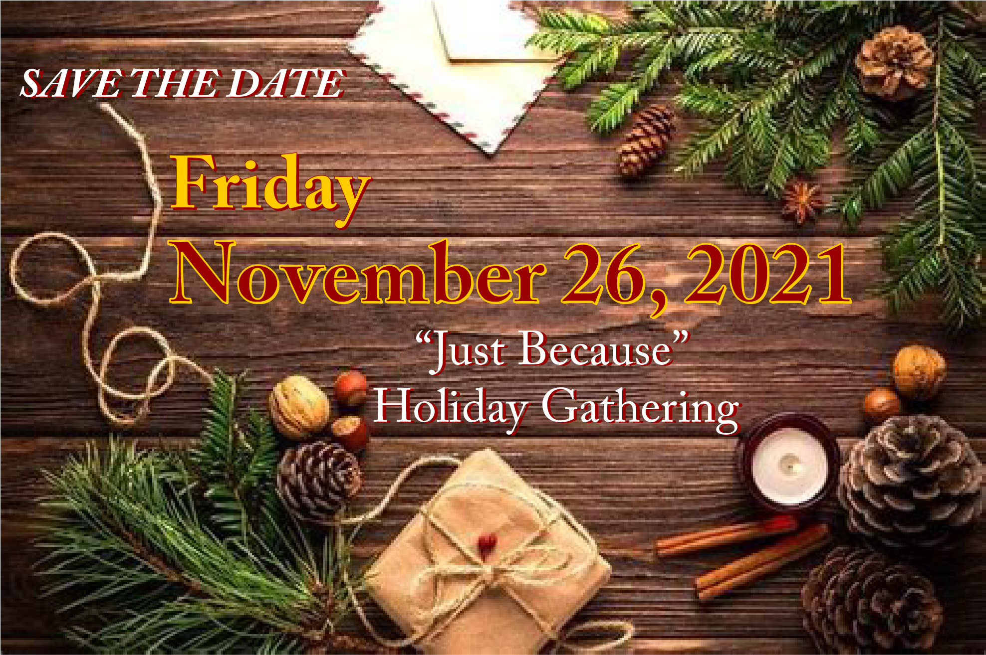 2021 - Save the Date