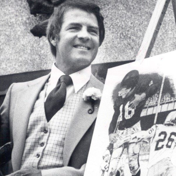 USC Frank Gifford all of Fame
